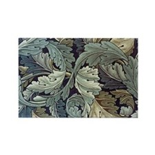 William Morris Acanthus Rectangle Magnet
