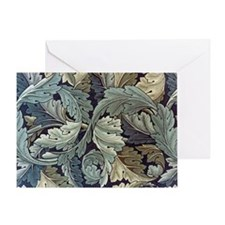 William Morris Acanthus Greeting Card