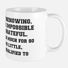 WE THE WILLING Mug