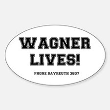 2-WAGNER LIVES Decal