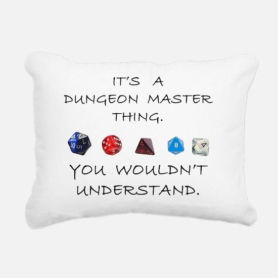 dungeonmasterthing Rectangular Canvas Pillow