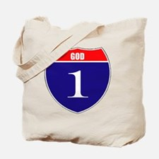 isgod1 Tote Bag