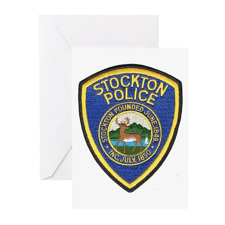 Stockton Police Greeting Cards (Pk of 10)
