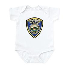 Stockton Police Infant Bodysuit