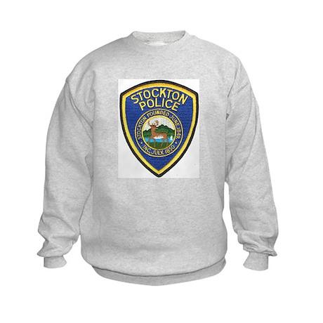 Stockton Police Kids Sweatshirt