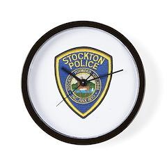 Stockton Police Wall Clock