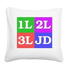 337b Square Canvas Pillow