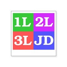 "337b Square Sticker 3"" x 3"""