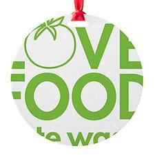 13368_love_food_hate_waste Ornament