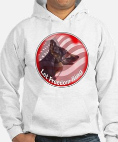 GSD freedom ring Hoodie