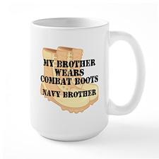 Navy Brother Desert Combat Boots Mugs