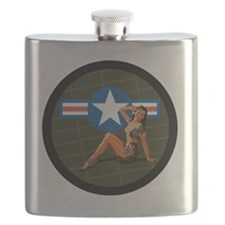 Air Force Pinup Girl Flask