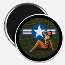 Air Force Pinup Girl Magnet