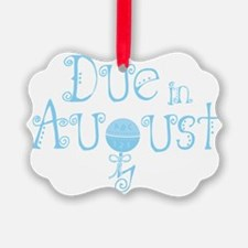 due_august_rattle_blu Ornament