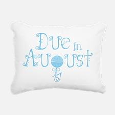 due_august_rattle_blu Rectangular Canvas Pillow