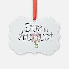 due_august_onwht Ornament