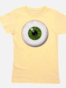 eyeball_greeneye Girl's Tee