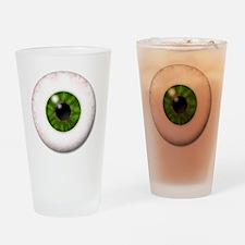 eyeball_greeneye Drinking Glass