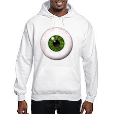 eyeball_greeneye Hoodie
