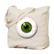 eyeball_greeneye Tote Bag
