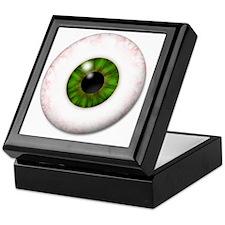 eyeball_greeneye Keepsake Box