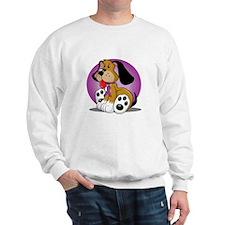 Animal-Abuse-Dog-blk Sweatshirt