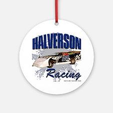 D57 - Mick Halverson - Late Model Round Ornament