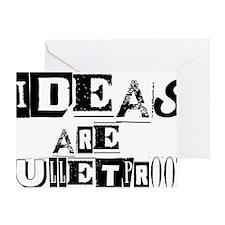 ideasbulletproof Greeting Card
