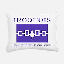 3-IROQUOIS Rectangular Canvas Pillow