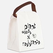 plantseedsresistance1 Canvas Lunch Bag