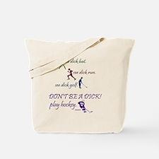 2-baseball_runner_golf_hockey Tote Bag