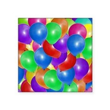 "Balloons! Square Sticker 3"" x 3"""