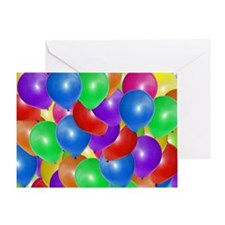 Balloons! Greeting Card