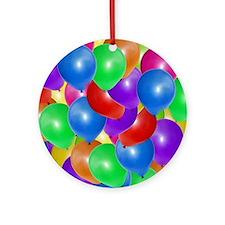 Balloons! Round Ornament