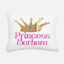 Princess Barbara crown 1 Rectangular Canvas Pillow