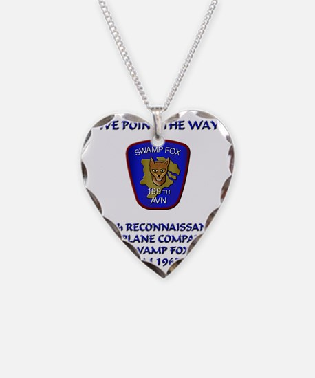199th-Swamp-Fox-motto Necklace