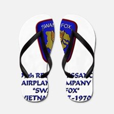 199th-Swamp-Fox-motto Flip Flops