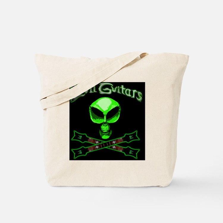 EvilAlienSkullNecks Tote Bag