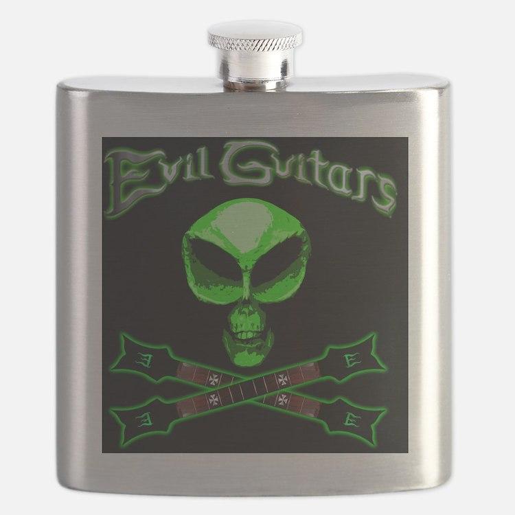 EvilAlienSkullNecks Flask