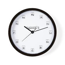 Chemfreak's Wall Clock