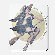 Vintage Salem Witch Mousepad