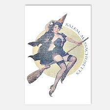Vintage Salem Witch Postcards (Package of 8)