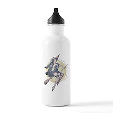 Vintage Salem Witch Water Bottle