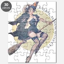 Vintage Salem Witch Puzzle