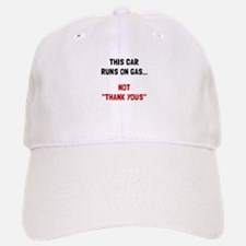 Car Runs Gas Baseball Baseball Baseball Cap