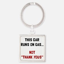 Car Runs Gas Keychains