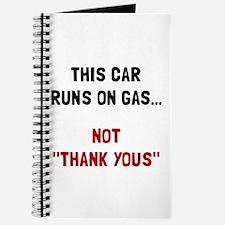 Car Runs Gas Journal