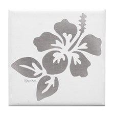 Hawaiian Flower Tile Coaster