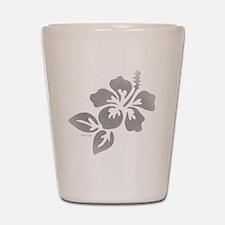 Hawaiian Flower Shot Glass