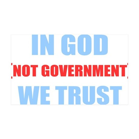 In-God-Not-Gov-(dark-shirt) 35x21 Wall Decal